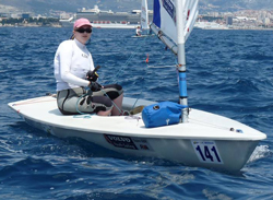 Lottie Harland : Laser Youth European Championhips 2013