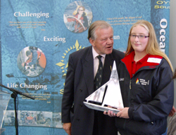 Lottie Harland : MDL Sail Training Award 2011