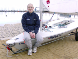 Lottie Harland : RYA Volvo Laser Transition Training Squad 2012