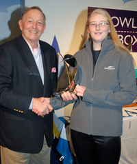 Lottie Harland : RYA Regional Young Sailor of the Year